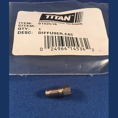 Titan Stati-kit 0132516 Difuser with Sealing Nipple