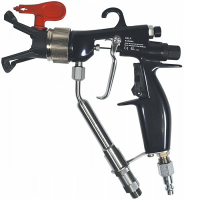 GM 3600 AirCoat Gun, 50\' Hose and Flat Tip Kit