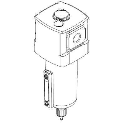 Titan 0533916 Lubricator bowl