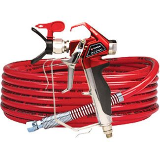 RX-Pro Airless Spray Gun, Hose, whip and Tip Kit (8-pk)