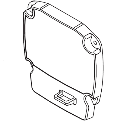 Titan 0551518 Face plate OR front cover