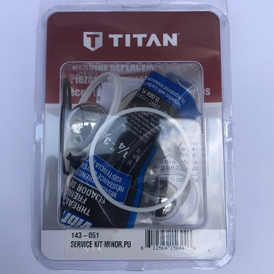 Titan 143-051 Fluid Section Service kit Minor