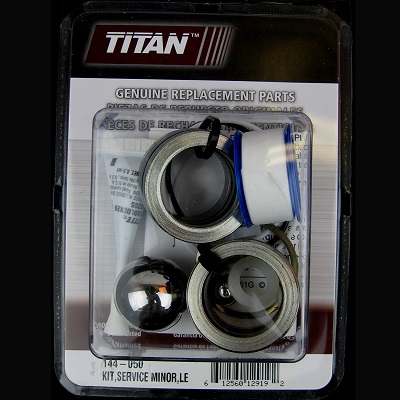 Titan PowrTwin 144-050 Fluid Section service kit Minor