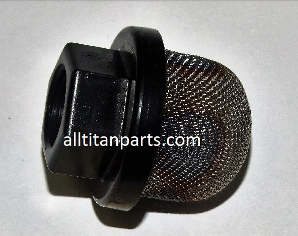 Inlet screen, 30 mesh small