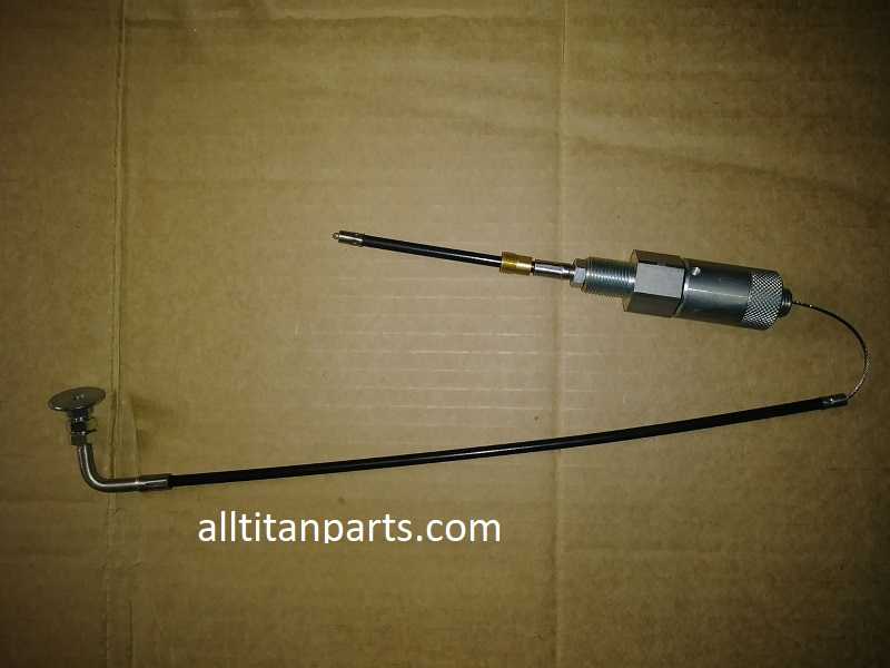 Throttle cable assy, pkgd