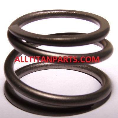 Upper packing spring