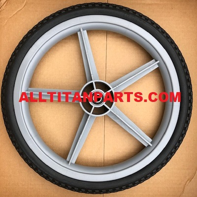 "16"" pair rear wheels with cap"