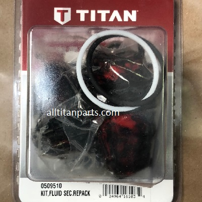 Titan 0509510 Fluid Section Repacking Kit