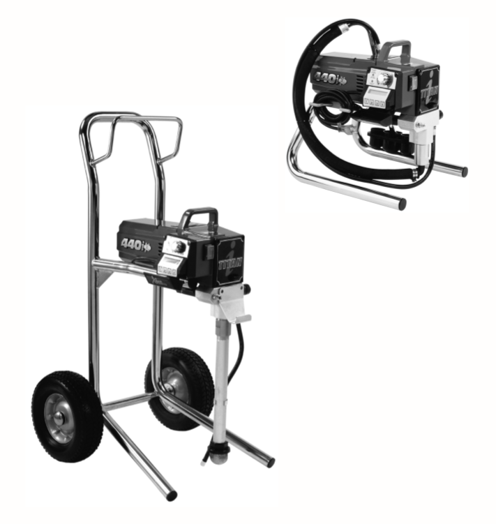 Electric Airless Sprayers Parts : Titan, Speedflo, Wagner
