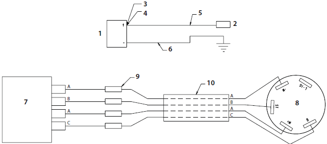 PowrLiner 6950 Connection Diagram