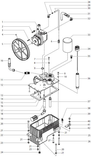 powrliner 6955   titan  speedflo  wagner  spraytech parts  oem paint sprayer parts