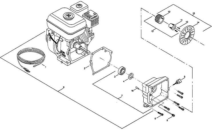 Elite G55 Engine : Titan, Sdflo, Wagner, Spraytech parts, OEM ...