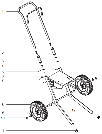 GPX 85 Cart Assembly