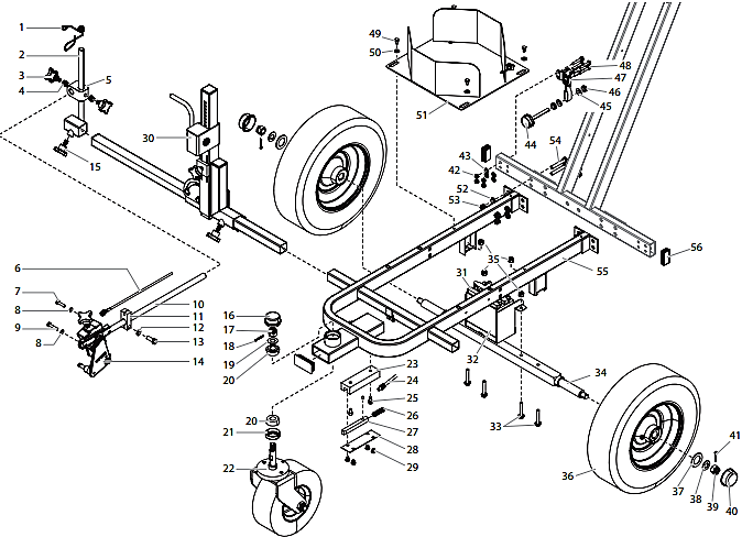 PowrLiner 4955 Cart Assembly I
