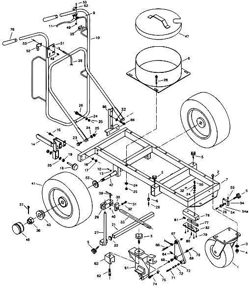 PowrLiner 6000 Cart Assembly (P/N 759-001)