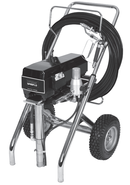 SPEEFLO PowrTex 1200 SF Airless Texture and Paint Sprayer