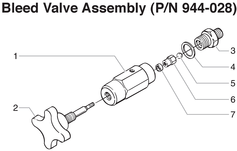 PowrTwin 12000GHD Bleed Valve Assembly