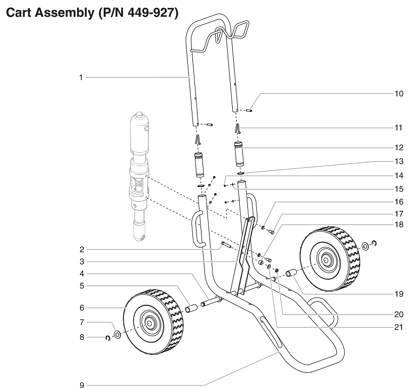 PowrTwin 12000XLT Cart Assembly