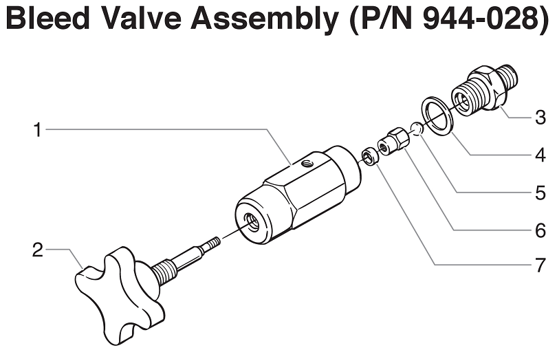 PowrTwin 6900GH Bleed Valve Assembly