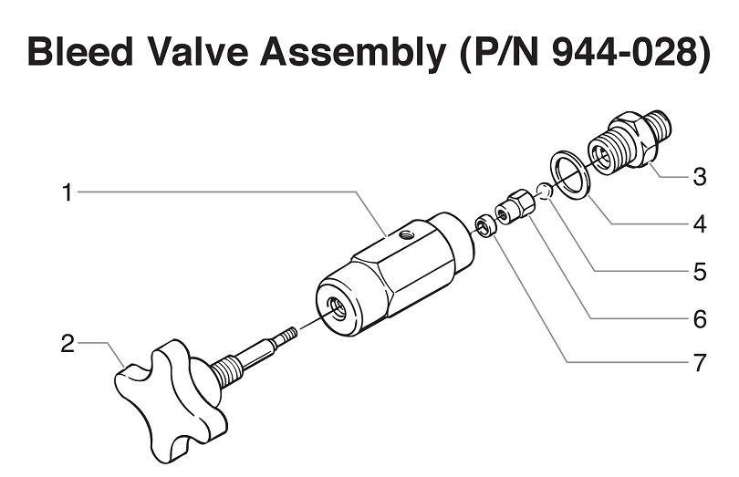 PowrTwin 8900GH Bleed Valve Assembly
