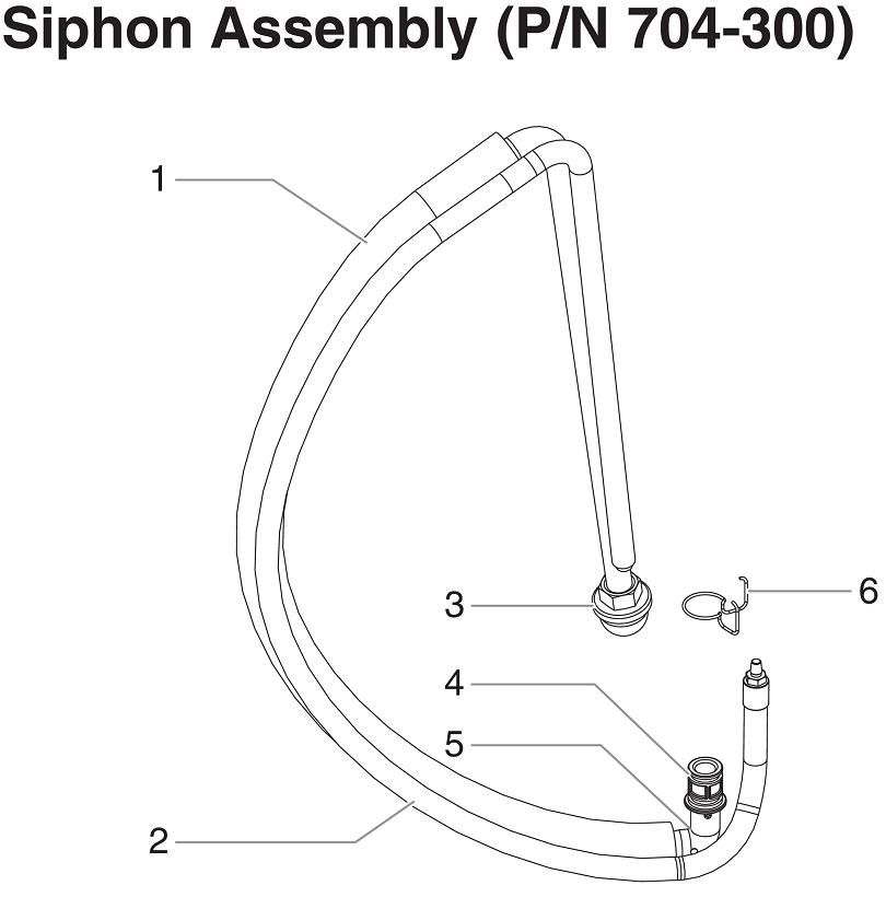 RentSpray 450 Siphon Assembly