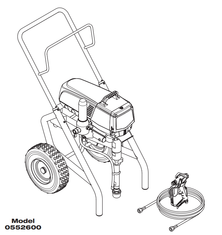 Impact 1040 Airless Sprayer